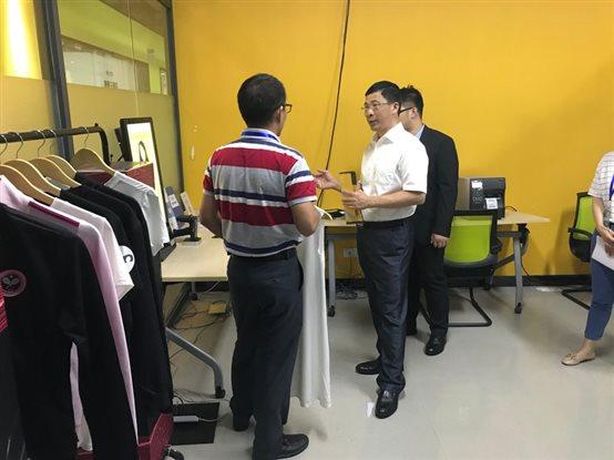福建省发改委党组成员、副主任詹晨辉一行莅临我司调研指导