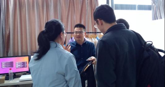 厦门产业技术研究院赵博士一行到访艾欧特