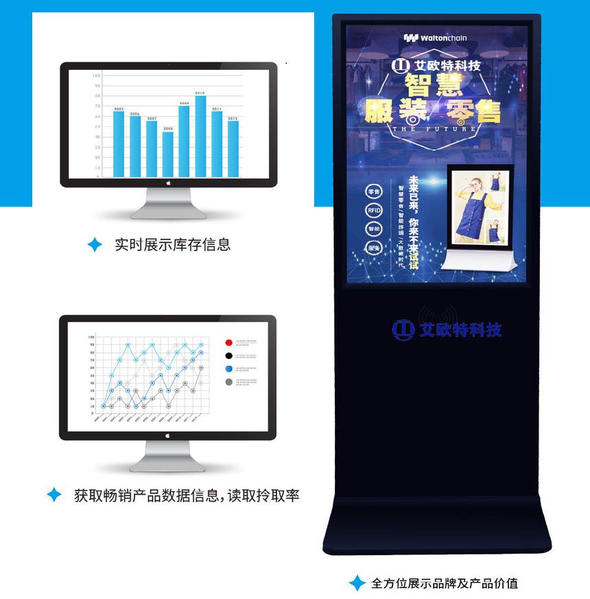 超高频RFID立式互动屏技术特点