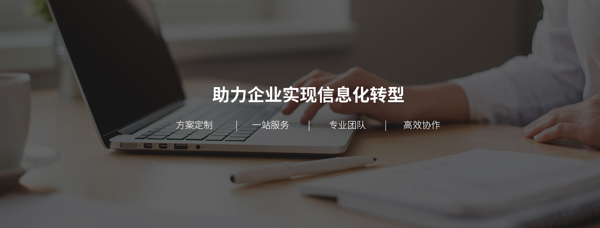 <strong>助力企业信息化转型</strong>